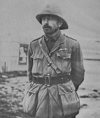 John Weston in South African Aviation corps uniform