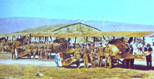 1917 Z SQUADRON at MUDROS